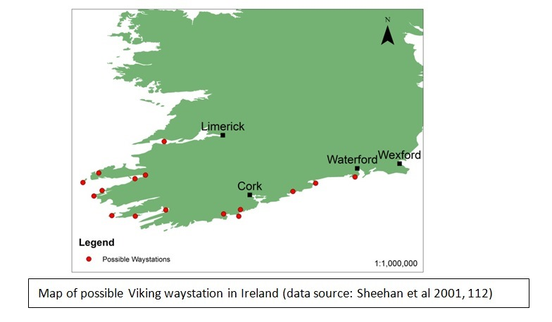 Sheehan Et Al Suggest The Existence Of Scandinavian Settlements All Along Irelands Western Coast Linking Limerick Way To Dublin And Using